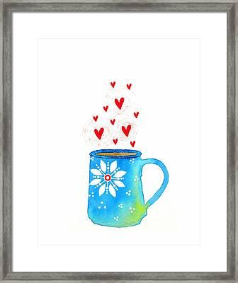 Cuppa Series - Java Love Framed Print