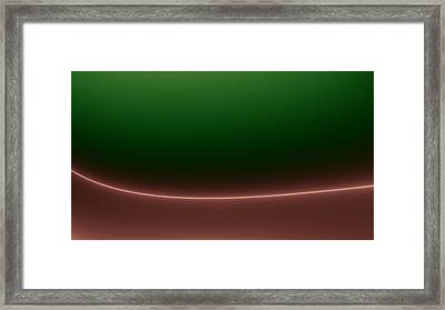 Cupped Framed Print by Jhoy E Meade