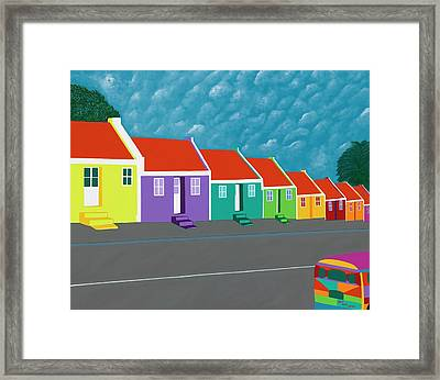 Curacao Dreams IIi Framed Print