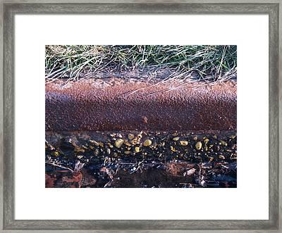 Curbing Influence Framed Print by Jacob Stempky