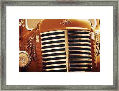 Curbside Classic Framed Print by Christine Till