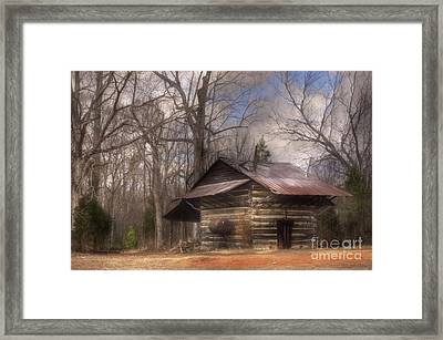 Framed Print featuring the photograph Curing Time by Benanne Stiens