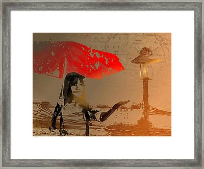 Curiosity Framed Print by Andre Pillay