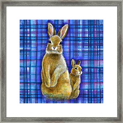 Framed Print featuring the painting Curiosity by Retta Stephenson