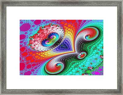 Curls In Lace No. 1 Framed Print by Mark Eggleston