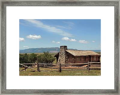 Curly's Cabin Framed Print by Gordon Beck
