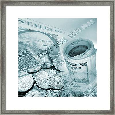 Currency Framed Print by Les Cunliffe