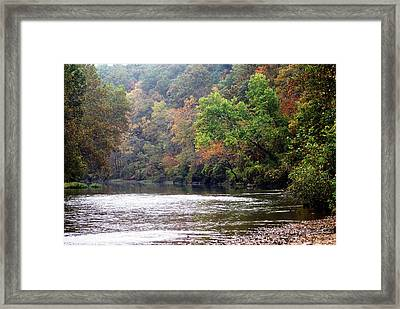 Current River 1 Framed Print by Marty Koch
