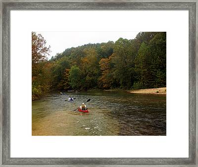 Current River 3 Framed Print by Marty Koch
