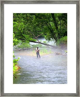Current River 6 Framed Print by Marty Koch