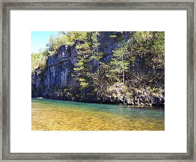 Current River 7 Framed Print by Marty Koch