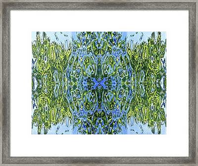 Current Wave Framed Print