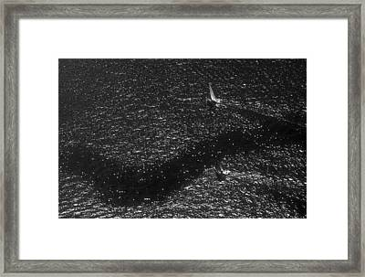 Currents Framed Print