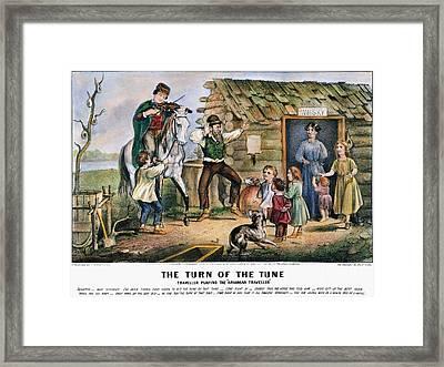 Currier  Ives Folk Tradition Framed Print by Granger