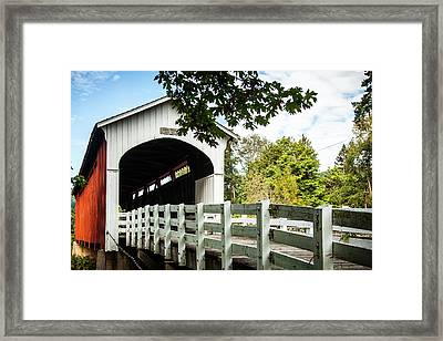 Currin Bridge Framed Print