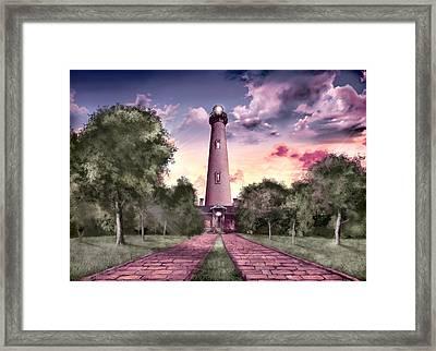 Currituck Beach Lighthouse 2 Framed Print