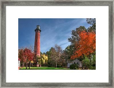 Currituck Lighthouse  Framed Print