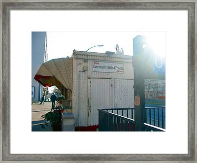 Currywurst Berlin And Friends Framed Print