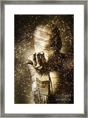 Curse Of The Mummy Framed Print