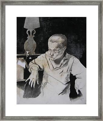 Curt Framed Print by Brad Wilson