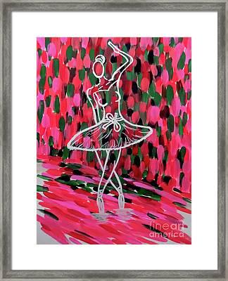 Curtain Call Framed Print by Jilian Cramb - AMothersFineArt
