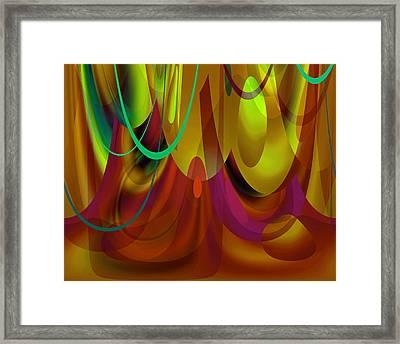 Curtain Call Framed Print by Lynda Lehmann