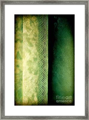 Framed Print featuring the photograph Curtain by Silvia Ganora