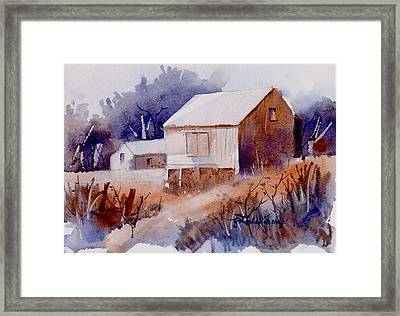 Curtis Farm In Ellicott City Framed Print by Yolanda Koh