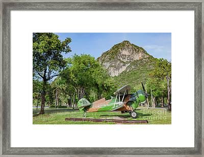 Curtiss Hawk Fighter Framed Print by Adrian Evans