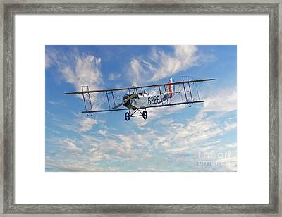Curtiss Jn-4h Biplane Framed Print