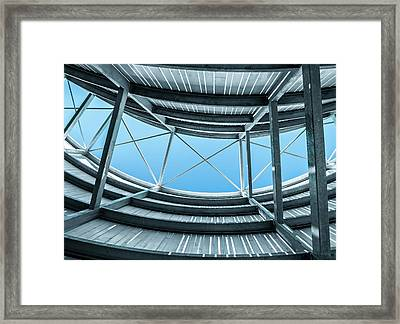 Curve Five Framed Print