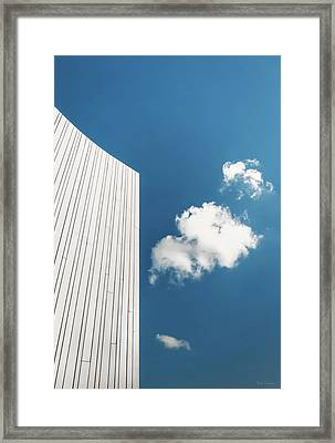 Curve One Framed Print by Wim Lanclus