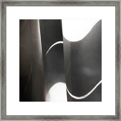 Curve Over Curve - Framed Print