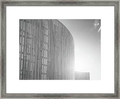 Curve Seven Framed Print by Wim Lanclus