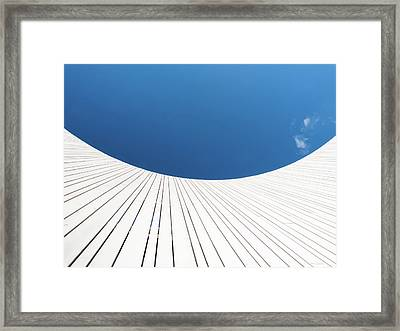 Curve Three Framed Print by Wim Lanclus