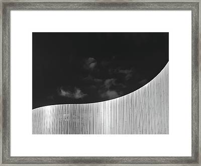 Curve Two Framed Print by Wim Lanclus