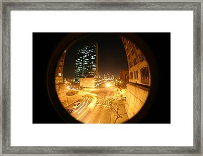 Curved Compromise  Framed Print by Matthew Kennedy