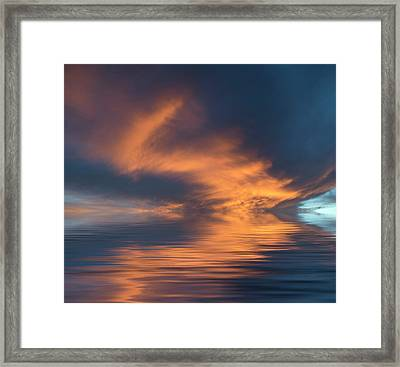Curved Framed Print by Jerry McElroy