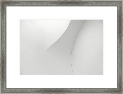 Curved Lines 1 Framed Print