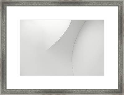Curved Lines 1 Framed Print
