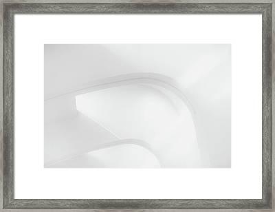Curved Lines 2 Framed Print
