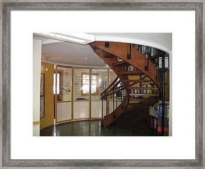 Curved Track 4 Framed Print by Sue Niemeic