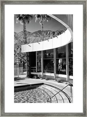 Curves Ahead Black And White  Framed Print by William Dey