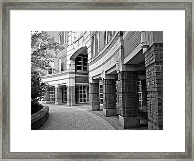 Curves And Crevices Framed Print by Mary Ann Weger