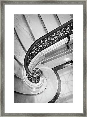 Curves And Light Framed Print by Jill Love