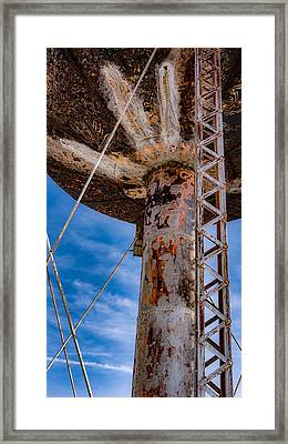 Curves And Lines Framed Print