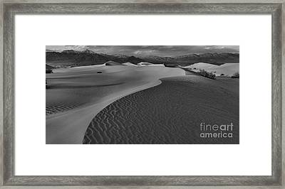 Curves Into The Night Framed Print by Adam Jewell