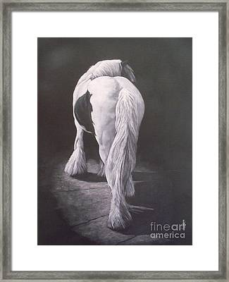 Curves-milltown Fair Framed Print by Pauline Sharp