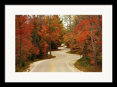 Autumn Art Framed Prints