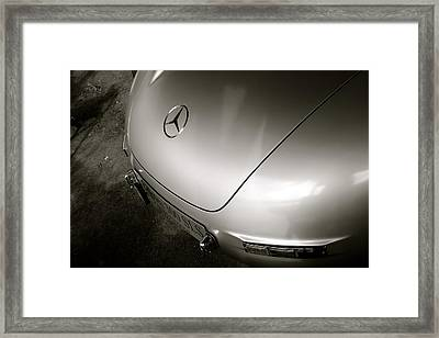 Curvy Rear End Framed Print
